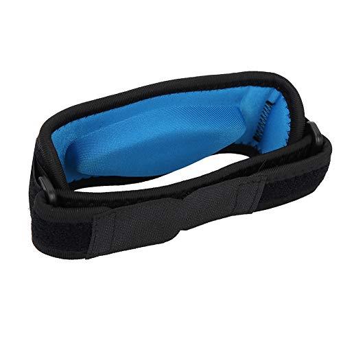 FastUU Stoff + Eva-Ellbogenstütze, Tennisellenbogenstütze, Blauer atmungsaktiver Schutz zum Schutz der Ellbogen-Fitnessgeräte Sportschutz