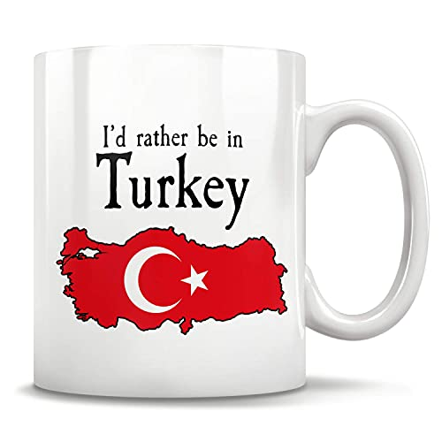 N\A Regalo de Turquía, Taza de Turquía, Regalo de Estambul Ankara, Copa de Turquía, Bandera de Turquía, Orgullo de Turquía, Abuela turca, Amo Turquía, Regalo para Turquía Hombres y Mujer