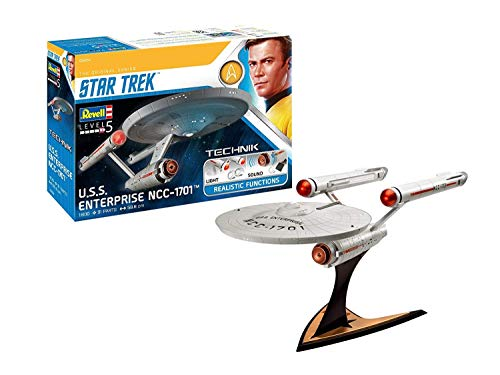 Revell 454 Technik The Original Series 00454 USS Enterprise NCC-1701 (Star Trek), Weiß