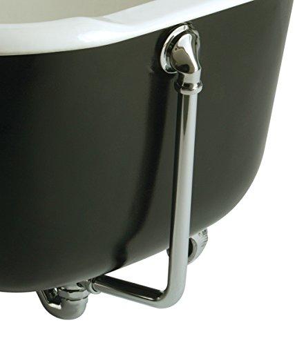 Bristan W bath08C ausgesetzt Badewanne Ablaufgarnitur mit Überlauf C, Chrom