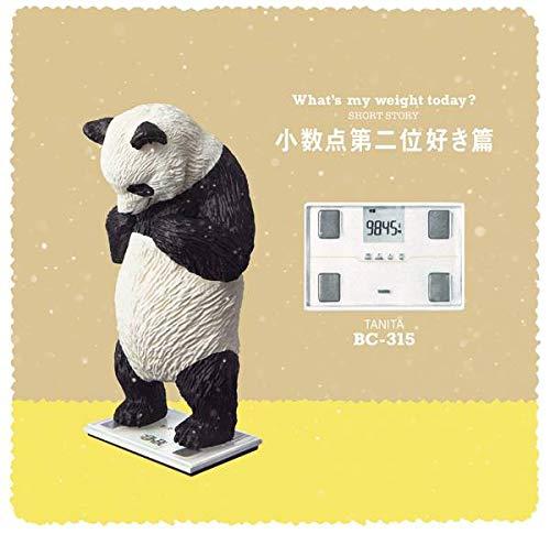 【BC-315(パンダ) 小数点第二位好き篇】 パンダの穴 今日は何キロ? タニタ×パンダの穴 フィギュア
