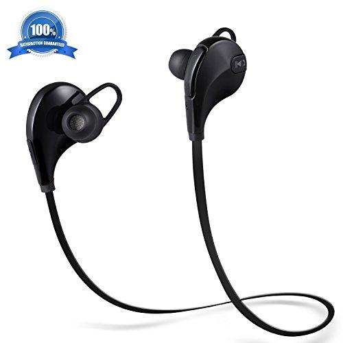 Atill Bluetooth Headphones, In-Ear Sweatproof Running Wireless 4.1 Earphones with Mic for Smartphones