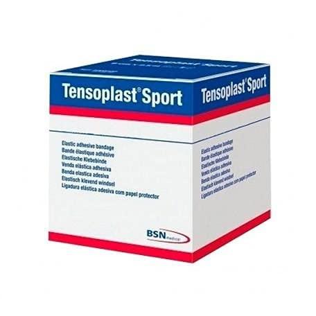 Tensoplast Sport elastischer Klebeverband (EAB) mit Schutzpapier für Profisport