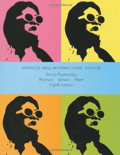 Social Psychology (8th Edition)