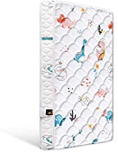 Bubble bear Premium Foam Hypoallergenic Infant Crib Mattress and Toddler Bed Mattress,Comfortable,Non-Toxic, Funny Dinosaurs World, Size:52X27.6X5