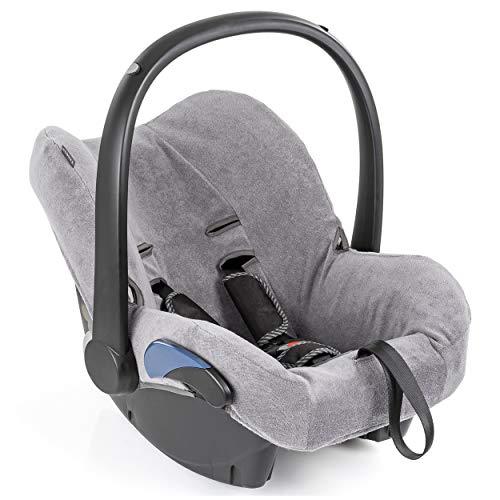 Zamboo Bezug für Maxi Cosi Citi Babyschale - Sommerbezug mit perfekter Passform für Autositz Citi, atmungsaktiv gegen Schwitzen, maschinenwaschbar - Grau (Standard)