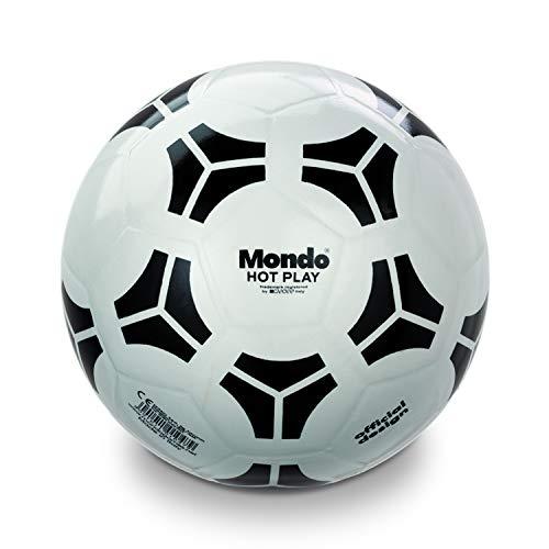 Mondo Toys - Pallone da Calcio HOT PLAY TANGO Pvc - per bambina/bambino - Colore Bianco - 01047