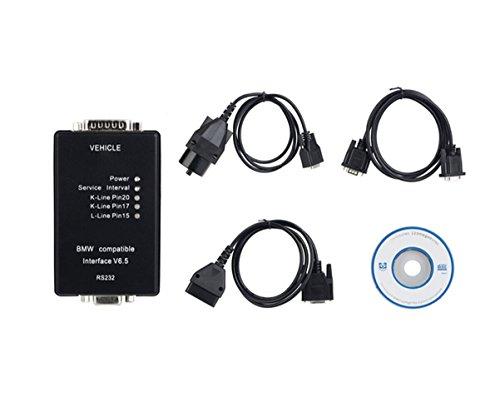 HaoYiShang carsoft Interfaz 6.5 Code Scanner OBD2 para BMW E30/E36/E46/Z3/E34/E39