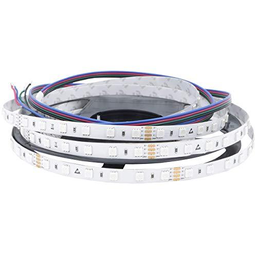 Preisvergleich Produktbild iluminize LED-Streifen RGB: sehr hochwertiger LED-Streifen RGB Ambiente mit 60 LEDs pro Meter,  hoch selektiert,  24V,  14, 4W pro Meter,  5 m auf Rolle (24V 60 LEDs / m IP33)