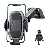 CORROY Car Phone Holder Mount Dashboard Windshield Air Vent Hands-Free Universal Cell Phone Holder for Car Compatible with All Mobile Phones
