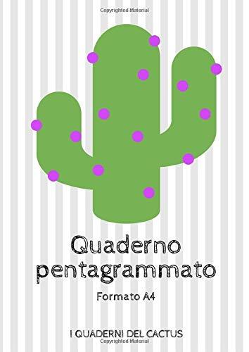 Quaderno pentagrammato: Formato A4