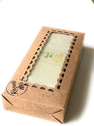Jabón de Alepo (Aceite de oliva) 100% natural. Hecho a Mano 2 piezas de 120 gramos