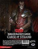 Gale force Nine LLC - GFN73705 - D&D DM Curse of Strahd - Écran du maître de Jeu (français Non Garanti), pour Maître de Donjon, Jeu Donjons et Dragons - Multicolore
