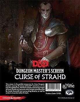 Dungeons & Dragons -  Curse of Strahd  DM Screen
