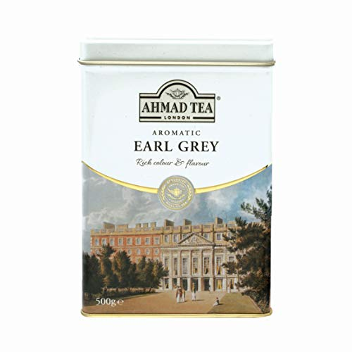 Ahmad Tea Earl Grey Aromatic Loose Tea, Ceylon Caddy, 17.6 Oz