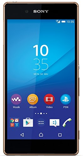 Sony Xperia Z3+ Smartphone (5,2 Zoll (13,2 cm) Touch-Display, 32 GB Speicher, Android 5.0) kupfer