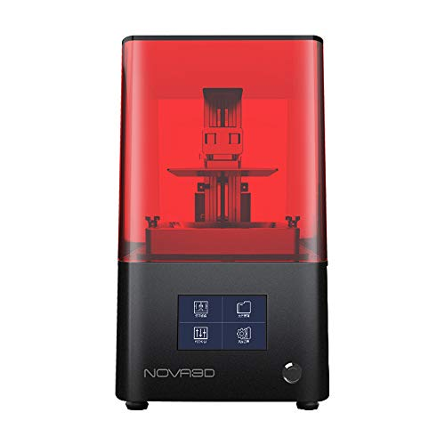 """NOVA3D Bene4 LCD 3D Printer with 4.3"""" Smart Touch Screen and Upgraded UV Light, 5.1 x 2.8 x 5.9"""" Print Size Metal Body & WiFi Printing, Large Memory"""