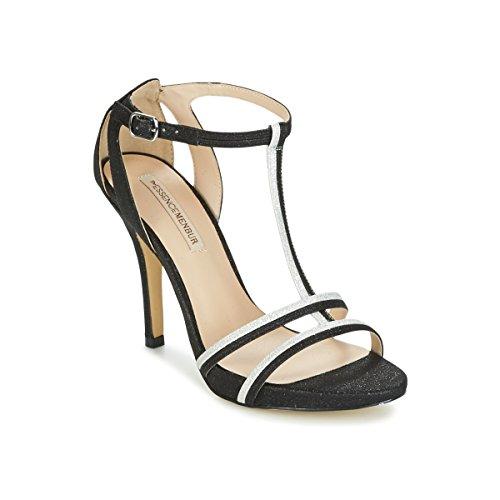 Menbur Loja Sandalen/Sandaletten Damen Schwarz - 39 - Sandalen/Sandaletten Shoes
