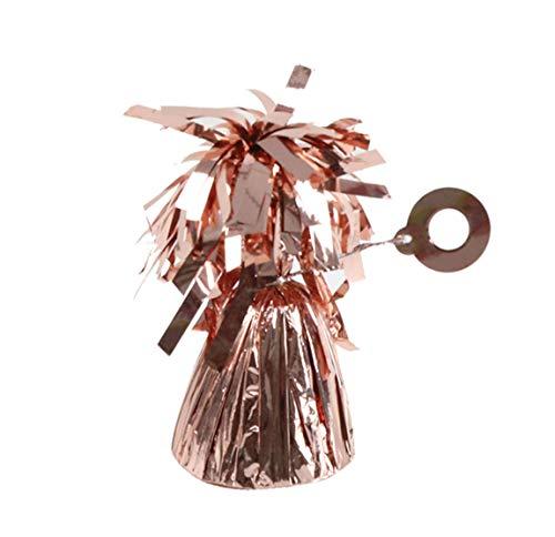 amscan 10022624 991365-199 - Ballongewicht Folie Roségold, 170 g