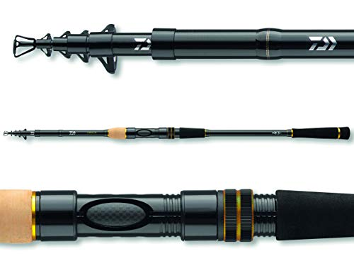 Daiwa Legalis Tele 1206H, 11.81 Feet, 1.41-4.23 Ounce, 6 Parts, Telescopic Allround Fishing Rod