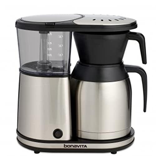 EspressoSupply BV1900TS Bonavita 8-Cup Stainless Steel Carafe Coffee Brewer