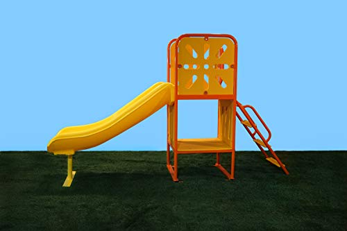Learn More About Large Tree House Playground Structure with Ladder and Slide