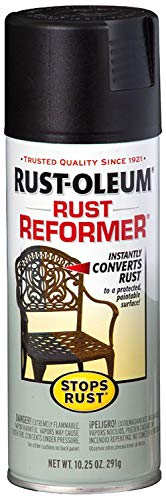 Rust-Oleum 215215 Stops Rust Rust Reformer Rust Reformer 10.25-Ounce Spray-Color Black