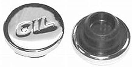 Racing Power Company R9787 Chrome Oil Filler Cap with Oil Logo