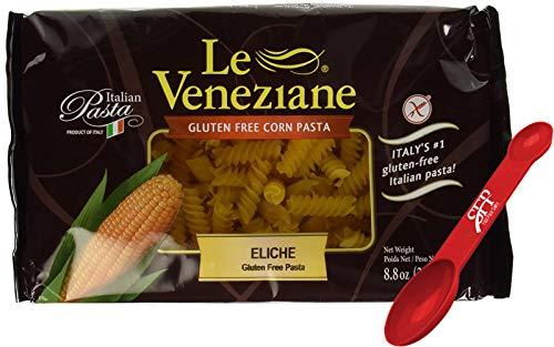 Le Veneziane Gluten Free Pasta Noodles ~ Fusilli Pasta ~ Corn Pasta ~ 2 Count (8.8 Oz.)