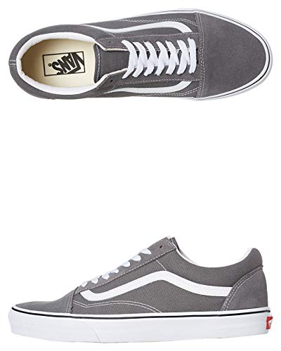 Vans Old Skool VN0A4BV5195, Herren, Pewter/True White, 47 EU