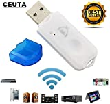 CEUTA® USB Wireless Bluetooth v2.1 Audio Music Receiver Adapter Amplifier for Apple, Android
