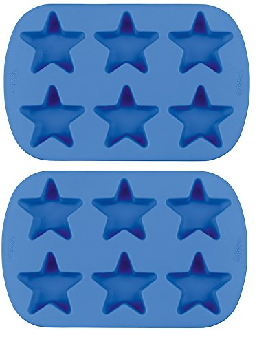 Mini Silicone Mold-6 Cavity Star 2.5x2.5x1.25