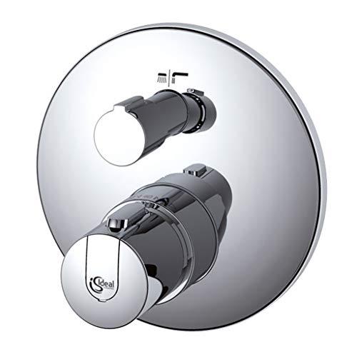 Ideal Standard A4888AA Ceratherm 100 New Miscelatore termostatico ad incasso individuale con deviatore per vasca/doccia