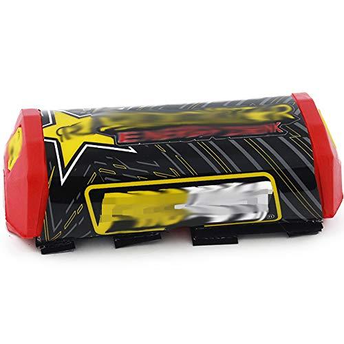 Manubrio per moto Bar Pad Handle Bar Rubber Off Road Rockstar Red