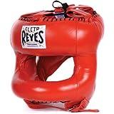 Cleto Reyes - Protector de cabeza de boxeo redondo de nailon para la cara de la barra roja de boxeo vendido por MinotaurFightStore