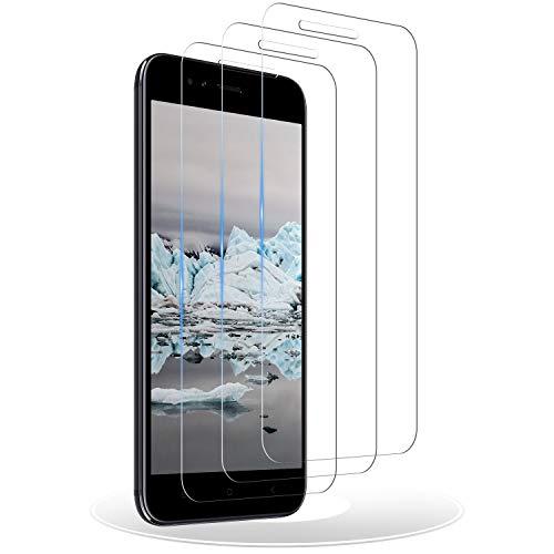 RIIMUHIR Protector de Pantalla para Xiaomi Mi A1, [3 Pack] Cristal Templado para Xiaomi Mi A1, Vidrio Templado, Dureza 9H, Anti-Rasguños, Sin Burbujas