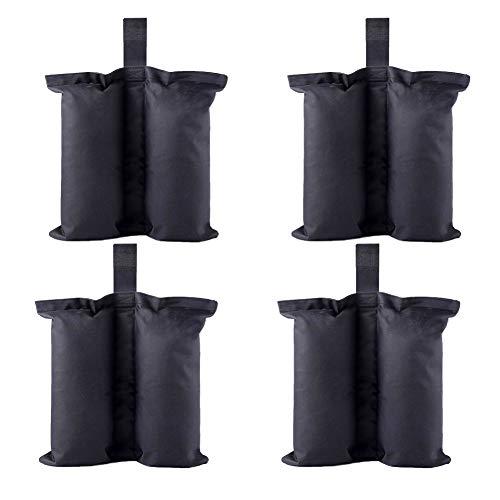 CACTIYE - Sacchetti per pesi resistenti e di alta qualità, per ripari istantanei, per gazebo, per tenda e gambe