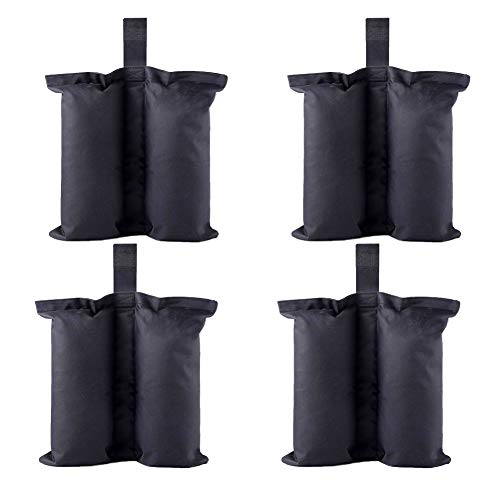 CACTIYE Weight Bags for Heavy Duty Premium Instant Shelters Gazebo Sand Bag Tent Leg Weight Bag for Pop up Canopy Tent Weighted Feet Bag