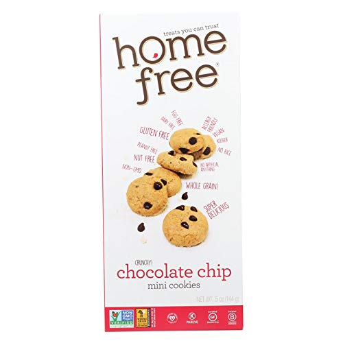 Home Free Ckie, Gf, Mini Choc Chip, 5-Ounce (Pack of 6)