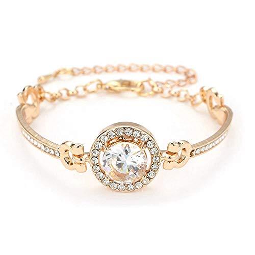 N/A Pulsera Joyas Boho Silver Color Honeycomb Stone Bracelet Set para Mujeres Triángulo Geométrico Nudo Pulseras Cuff Bangles Charm Jewelry 4Pcs / Set