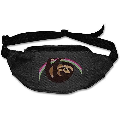 Beyond Loser Sac De Taille Fanny Pack I Love Sloth Summer Fanny Pack Ceinture De Course Réglable Travel Waist Bag Léger pour Unisexe