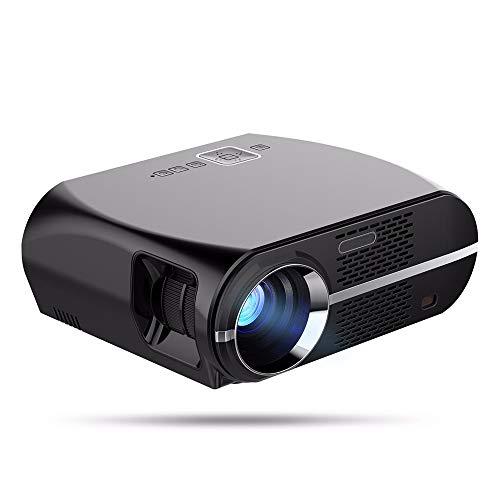 CZX 3200 Lumen WiFi Bluetooth Heimkino-Projektor, Unterstützung 1080P Miniprojektor, kompatibel withHDMI/VGA/USB/AV/Laptop/Smartphone