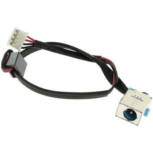 DC Jack Power Cable compatible with ACER Aspire 5750, 5750G, 5750Z Replacement Charging Wire Socket Connector
