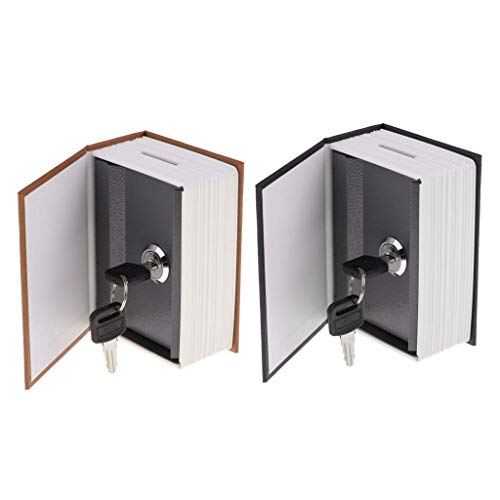 2 piezas.Diseño de diccionario Hucha Hucha Hucha para viajes y hogar