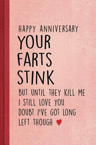 anniversary gifts for husband: happy birthday Funny Birthday Card notebook journal gifts for men husband birthday gift boyfriend gifts cool things Altirnative mens gifts 6x9 Inch 120 Pages