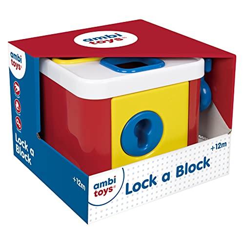 Ambi Toys Vormenblok met sleutel