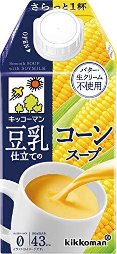 キッコーマン豆乳仕立てのコーンスープ500ml×12