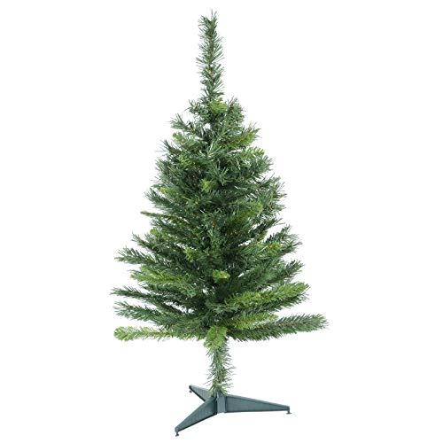 Mr Crimbo 3ft 90cm Mixed Pine Artificial Christmas Tree Indoor Xmas Decoration Small