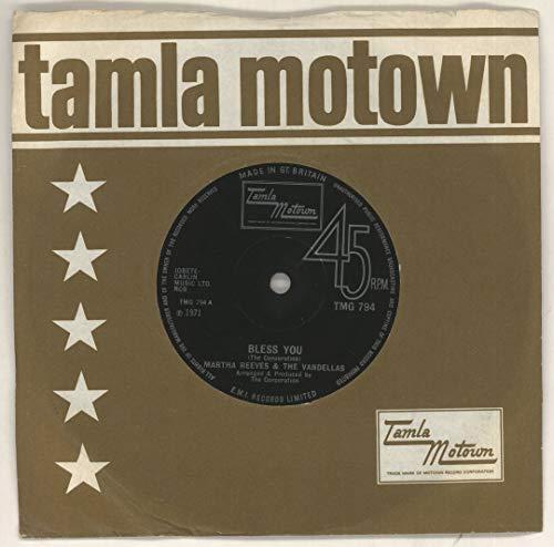 Martha Reeves & The Vandellas - Bless You - Tamla Motown - TMG 794