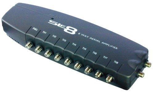SLx 27824FG 8 Output Aerial Distribution Amplifier for 4G Device